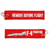 Kľúčenka Remove before flight + F-4