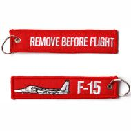 Kľúčenka Remove before flight + F-15