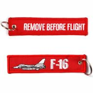 Kľúčenka Remove before flight + F-16