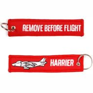 Kľúčenka Remove before flight + Harrier