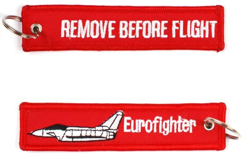 Kľúčenka Remove before flight + Eurofighter