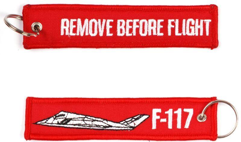 Kľúčenka Remove before flight + F-117