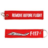 Kľúčenka Remove before flight + F-117