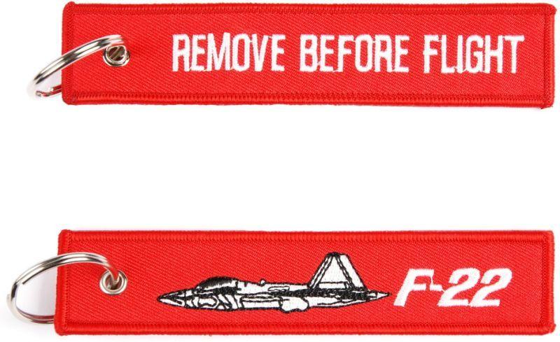 Kľúčenka Remove before flight + F-22