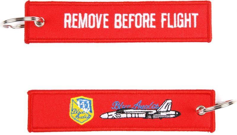 Kľúčenka Remove before flight + Blue Angels