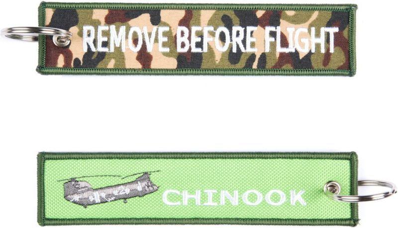 Kľúčenka Remove before flight + Chinook