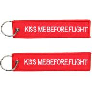 Kľúčenka Kiss me before flight double