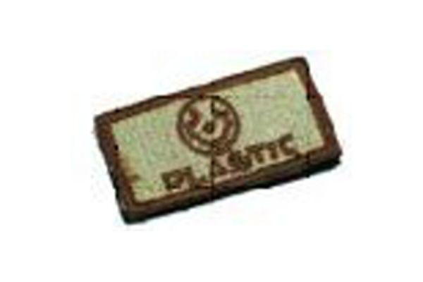 Textilná Nášivka/Patch PS013 PLASTIC, desert
