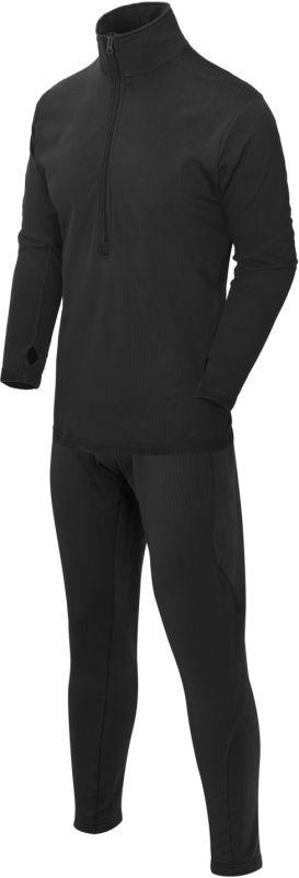 HELIKON Funkčné prádlo US Level. 2, set - čierne (KP-UN2-PO-01)