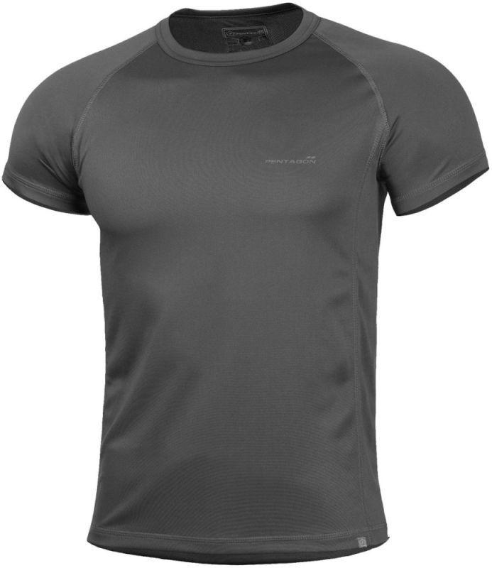 PENTAGON Funkčné tričko BODY SHOCK, krátky rukáv - šedé (K09003-CINDER)