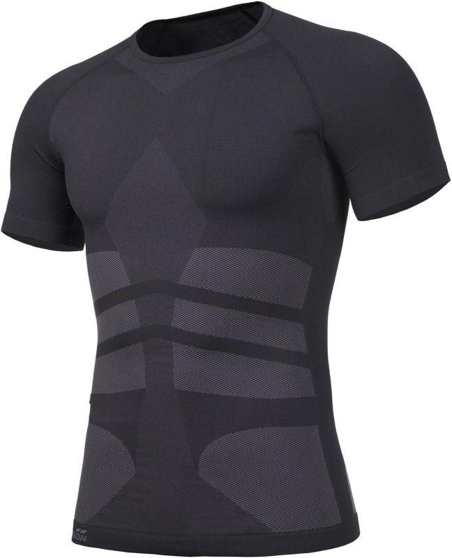 PENTAGON Funkčné tričko PLEXIS, krátky rukáv - čierne, (K11010-BLK)