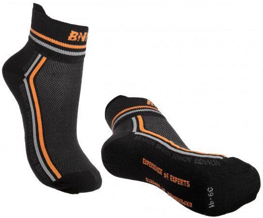 BENNON Ponožky TREK Summer - čierne, (D23001)