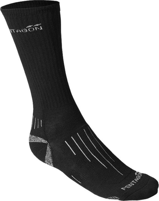 PENTAGON ponožky Coolmax, čierne, K14022