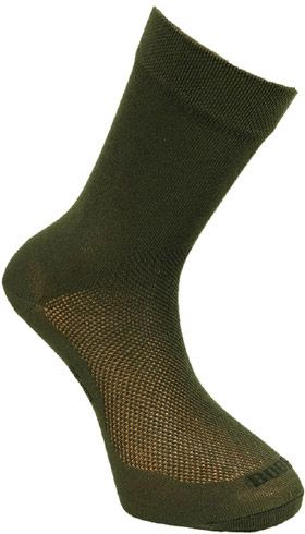 BOBR Ponožky letné spoločenské - zelené (BR1411)