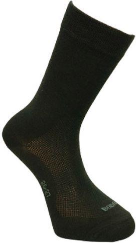 BOBR Ponožky letné spoločenské - čierne (BR1421)