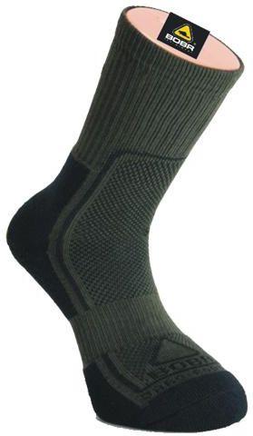 BOBR ponožky Termo jar / jeseň, zelené, BR1013
