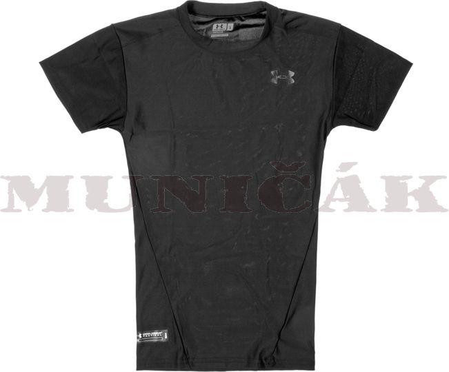 Under Armour Kompresné tričko Tactical HeatGear, čierne