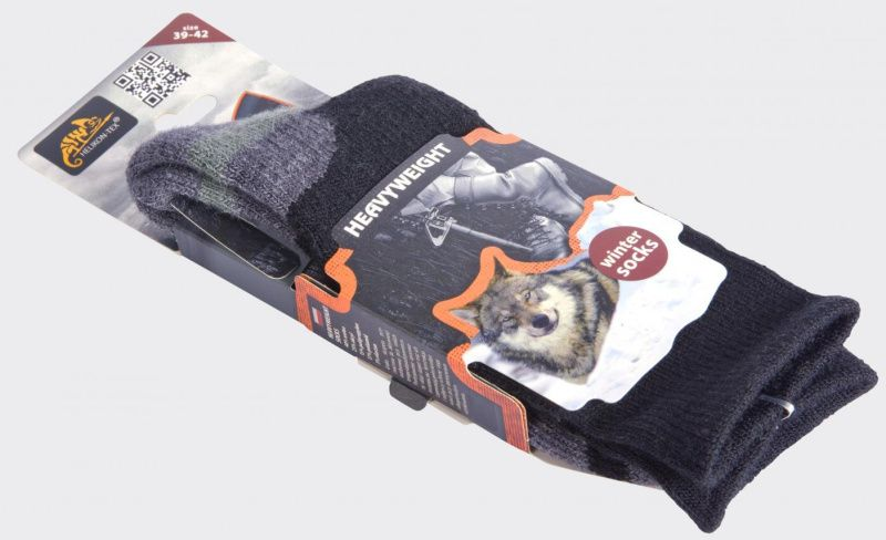 HELIKON Ponožky HEAVYWEIGHT, čierne, SK-HWT-WA-01 - čierne, (SK-HWT-WA-01)
