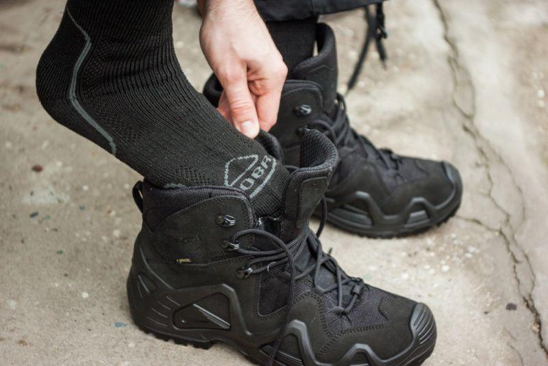 BOBR ponožky Záťažové, čierne, BR1223