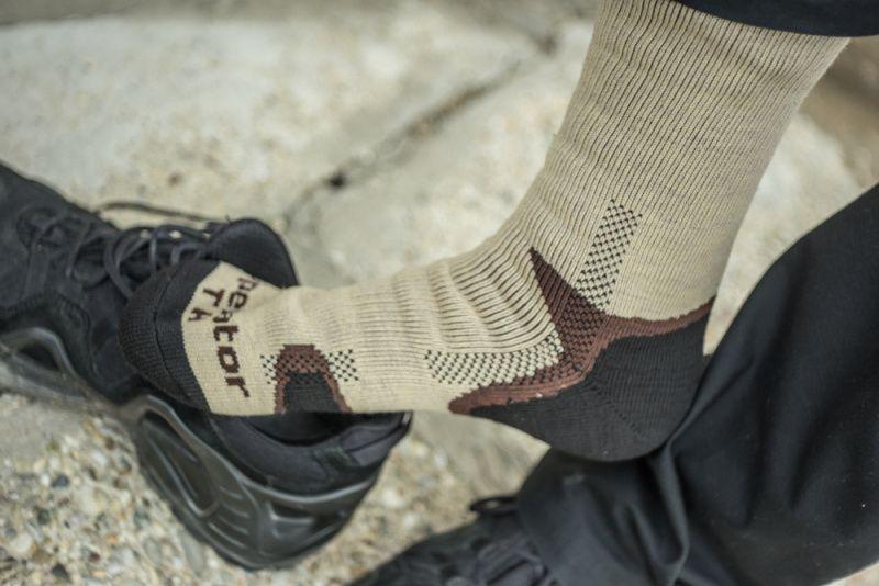 BATAC ponožky Operator Thermo, béžové, OPTH-13