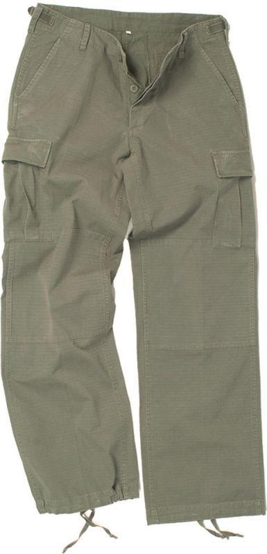 MILTEC Dámske krátke nohavice BDU, ripstop, prané - olivové, (11141001)