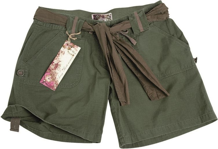 MILTEC Dámske krátke nohavice ARMY - olivové, (11137001)