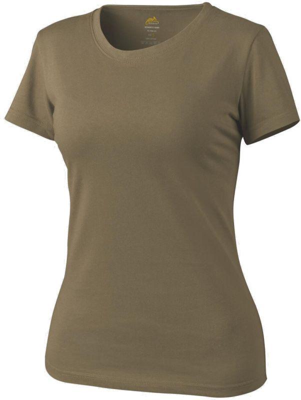 HELIKON Dámske tričko bavlna - coyote, (TS-TSW-CO-11)