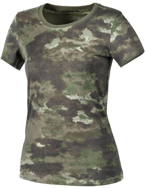 HELIKON Dámske tričko, bavlna, legion forest, TS-TSW-CO-51