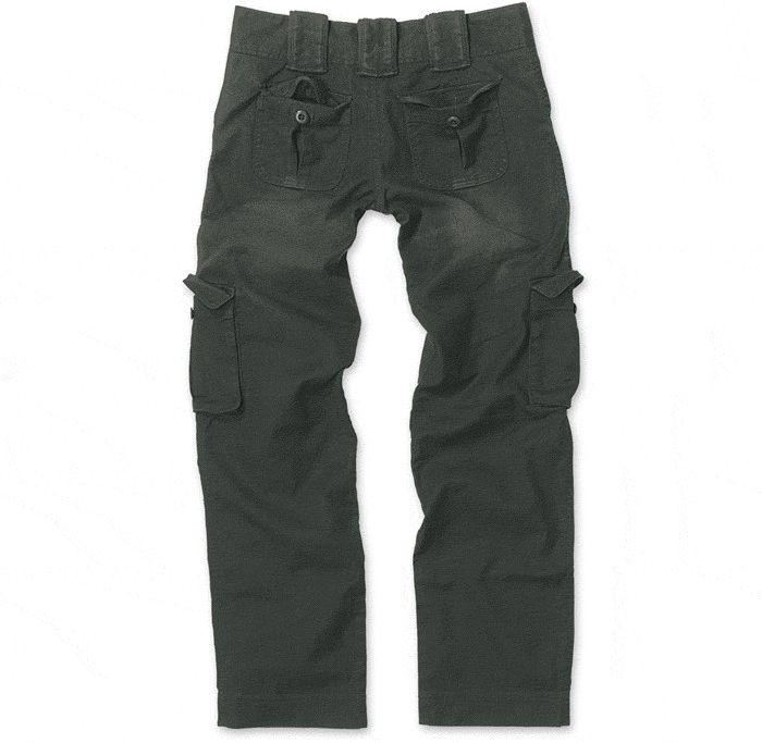 SURPLUS Dámske nohavice Vintage Ladies, čierne, 33-3587-63