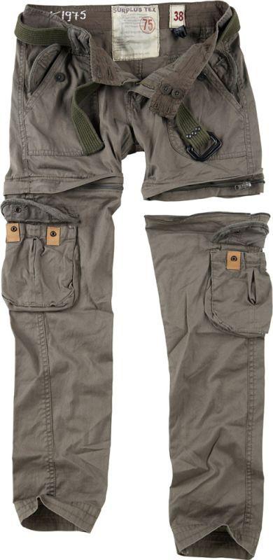 SURPLUS Dámske nohavice Premium Trekking, olivové , 33-3688-61