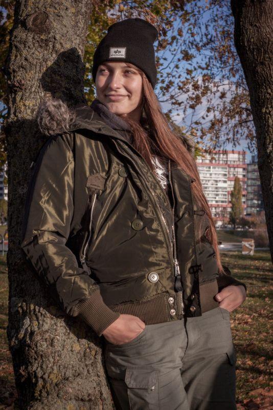 ALPHA INDUSTRIES Dámska bunda Arctic Jacket - dark green, (168042/257)