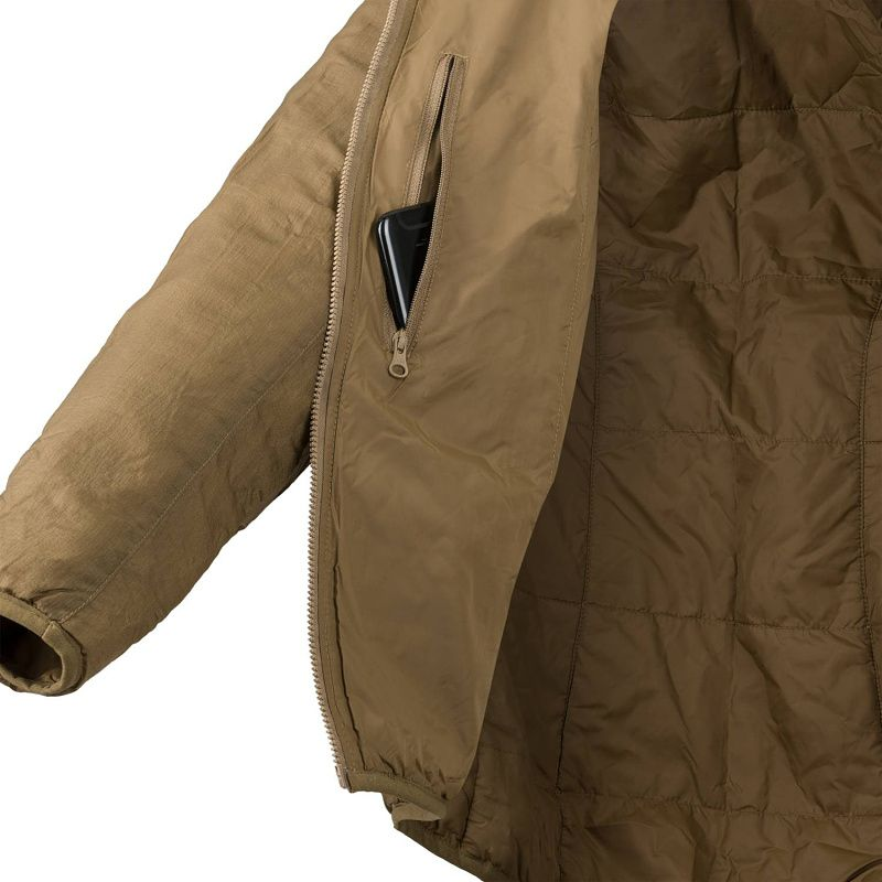 HELIKON Dámska bunda WOLFHOUND HOODIE, Climashield Apex 67g - taiga green (KU-WWH-NL-09)