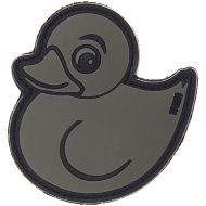 3D PVC Nášivka/Patch Devil Duck - šedá