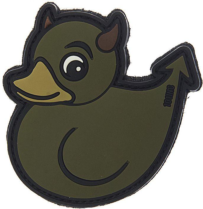 3D PVC Nášivka/Patch Devil Duck - zelená, (444130-3850)