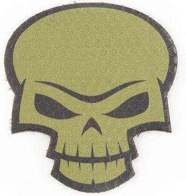 COMBAT-ID IR Nášivka/Patch Skull 2 - olivová