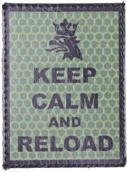 COMBAT-ID IR Nášivka/Patch Keep Calm - olivová