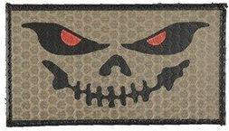 COMBAT-ID IR Nášivka/Patch Evil Smile - coyote