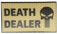 COMBAT-ID IR Nášivka/Patch Death Dealer, right - tan