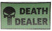 COMBAT-ID IR Nášivka/Patch Death Dealer, left - olivová