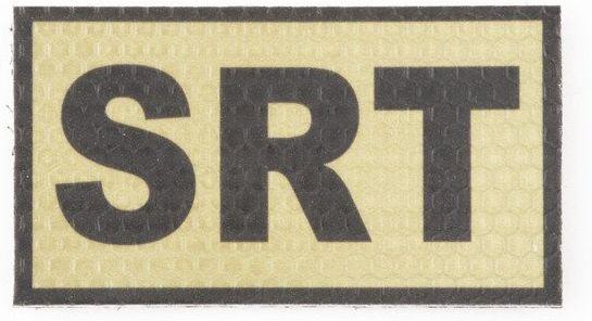 COMBAT-ID IR Nášivka/Patch SRT - tan