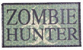 COMBAT-ID IR Nášivka/Patch Zombie Hunter - woods