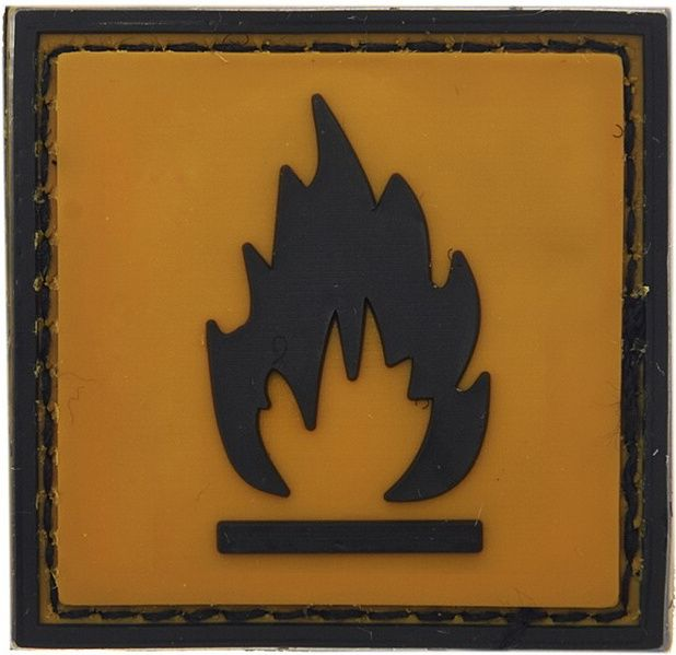 3D PVC Nášivka/Patch Flammable, (444120-359599A)