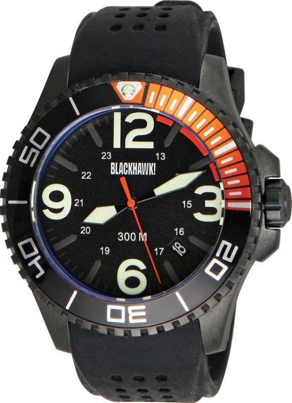 Taktické hodinky Blackhawk Deep Sea Operator, čierne, BB81351