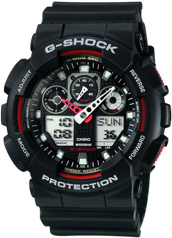 CASIO Hodinky G-Shock GA 100-1A4, (15029496)