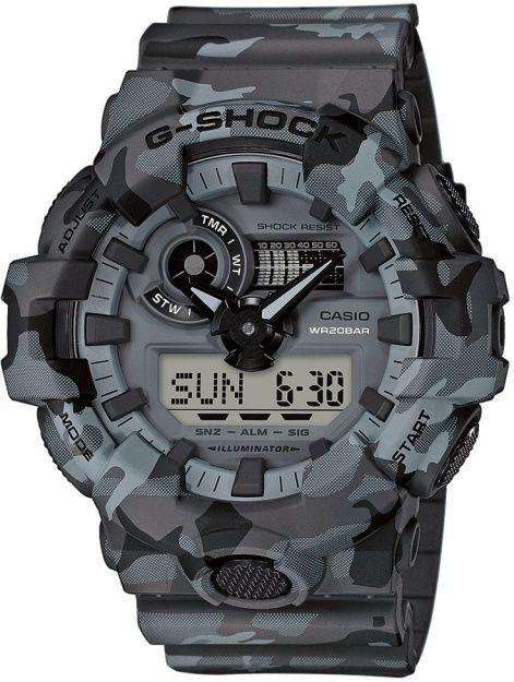 CASIO Hodinky G-Shock GA 700CM-8A, (15046066)