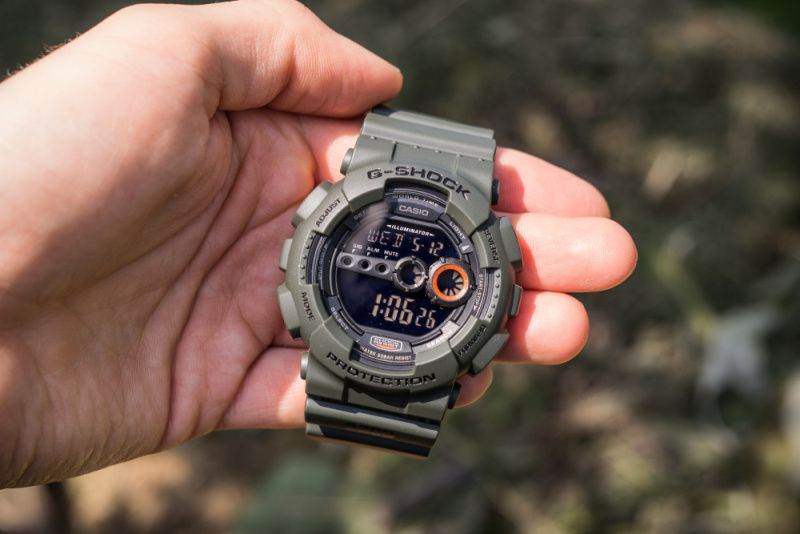 CASIO Hodinky G-Shock GD 100MS-3, (15031210)