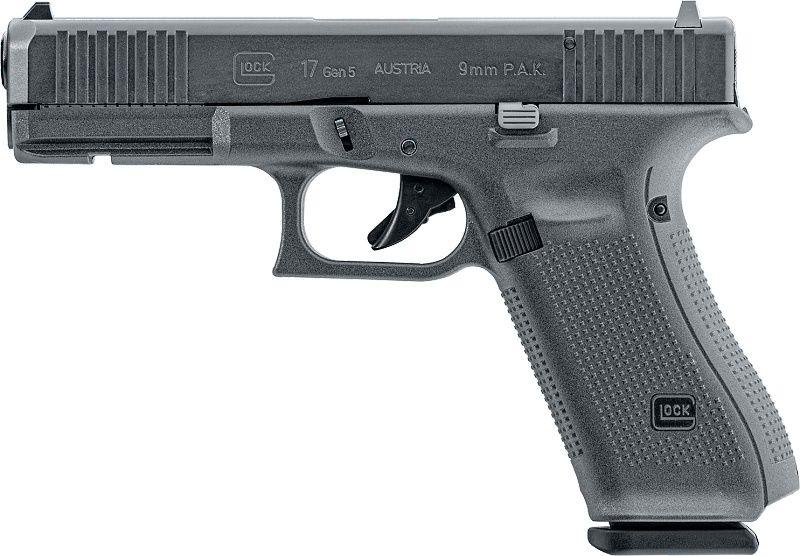 UMAREX Plynová pištoľ GLOCK 17 Gen5, kal. 9mm P.A.K. - čierna (311.02.00)