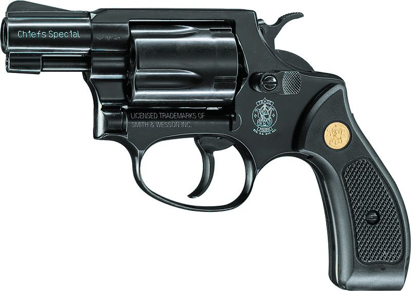 UMAREX Plynový revolver S&W Chiefs Special, kal. 9mm - čierny (348.02.07)