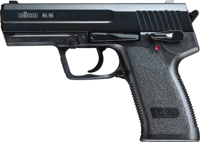 UMAREX Plynová pištoľ RÖHM RG 96, kal. 9mm PA - čierna (701.02.00)