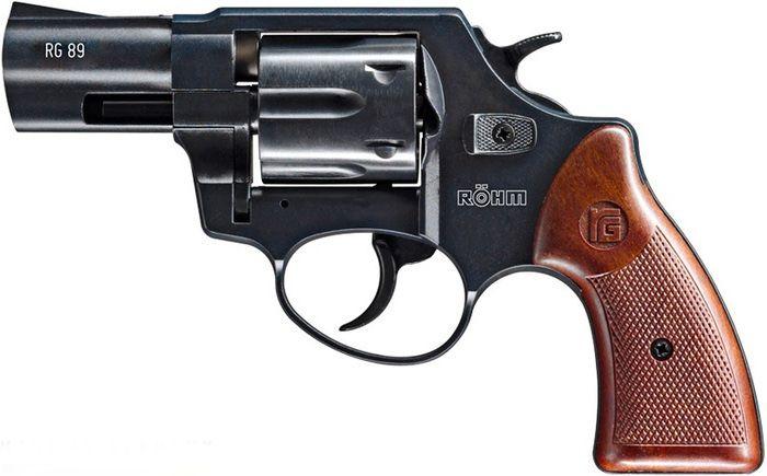 UMAREX Plynová pištoľ RÖHM RG 89, kal. 9mm PA - čierna (721.02.00)